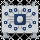 Hardware Computer Hardware Microchip Icon