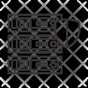 Hardware Server Data Icon
