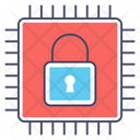 Hardware Security Data Protection Secure Device Icon