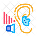 Bad Hearing Human Icon