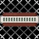 Harmonica Mouth Harp Mouth Organ Icon