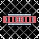 Harmonica Instrument Music Icon