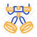 Harness Alpinism Hooking Icon