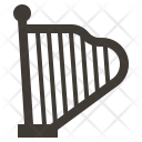 Harp Instruments Music Icon