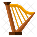 Harp Music Instrument Icon