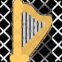 Harp Music Instrument Icon