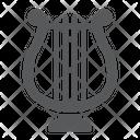 Harp Music Lyre Icon