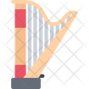 Harp Lyre Musical Instrument Icon
