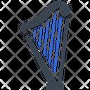 Harp Lyre Musician Icon