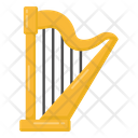 Musical Instrument Harp Strings Instrument Icon