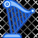 Harp Musical Instrument Music Icon