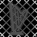 Harp Music Ancient Icon