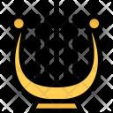 Harp Culture Civilization Icon