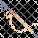 Harpoon Weapon Fishing Icon