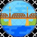 Bridge Hartland Covered Footbridge Icon