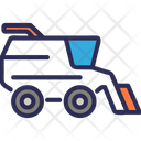 Harvest Combine Farming Icon
