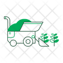 Harvest Harvester Farming Icon