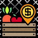 Harvest Apple Carot Icon