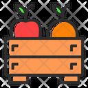 Harvest Basket Food Icon