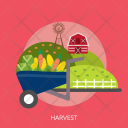 Harvest Agriculture Farm Icon