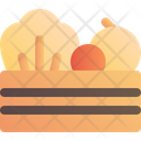 Harvest Box Vegetable Icon