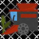 Harvester Vehicle Machine Icon