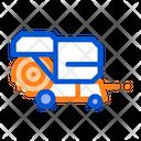 Shaking Harvester Vehicle Icon