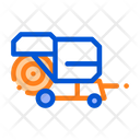Harvester Machine Icon