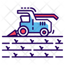 Harvesting Crops Icon