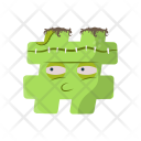 Hash Monster Icon