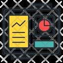 Hashrate Algorithm Analytics Icon