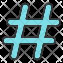 Hashtag Keyword Seo Icon