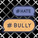Hashtag Bully Bullying Icon