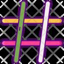 Hashtag Hash Hex Icon