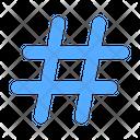 Hashtag Hashtags Tag Icon