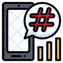 Hashtag Trending Topic Trending Icon