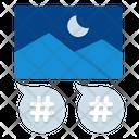 Hashtag Tags Speech Bubble Icon