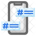 Hashtag Social Network Comments Icon