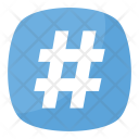 Hashtag Number Sign Icon