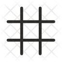 Grid Lines Intersection Icon