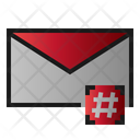 Mail Hastag Message Icon