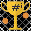 Hashtag Winner Icon