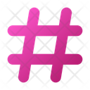 User Interface Hastag Pound Icon