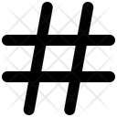 Hastag Hash Tag Icon