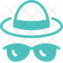 Hat Cap Sunglass Icon