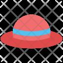 Hat Summer Panama Icon