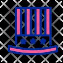 Hat Celebrate Fourth Icon