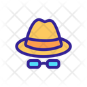 Hat Detective Cipher Icon