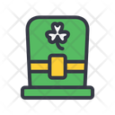 Hat Clover Hat Leprechaun Icon