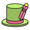 Hat Feather Costume Icon